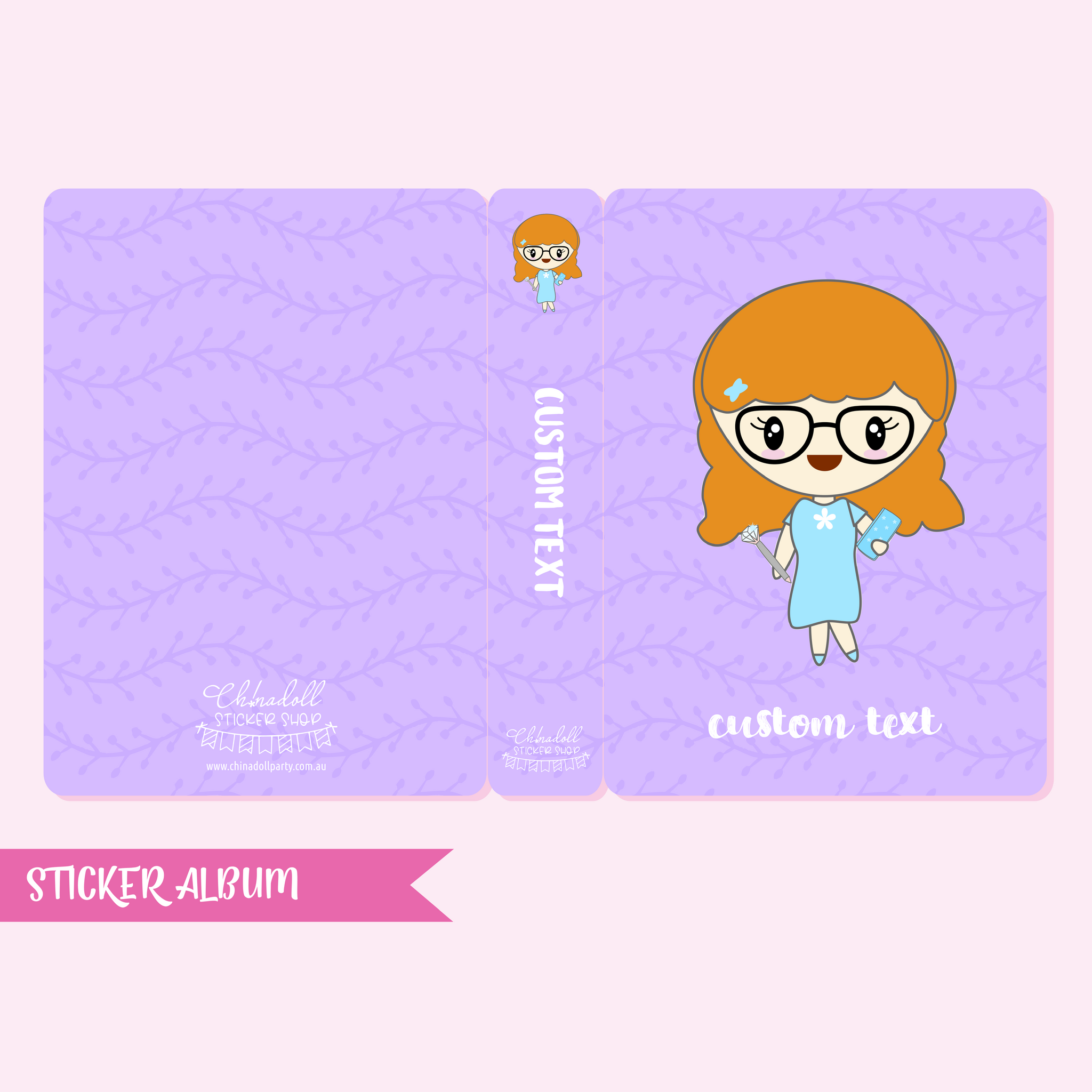 eliza | custom sticker album - regular | EL-902