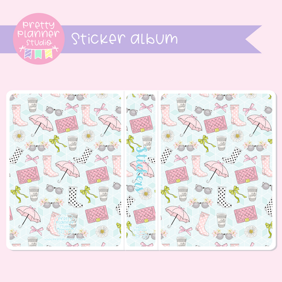The first bloom - Fashion | sticker album | FB-006/2