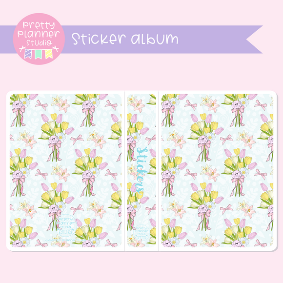 The first bloom - Bouquet | sticker album | FB-006/4