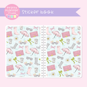 The first bloom - Fashion | sticker book | FB-007/2