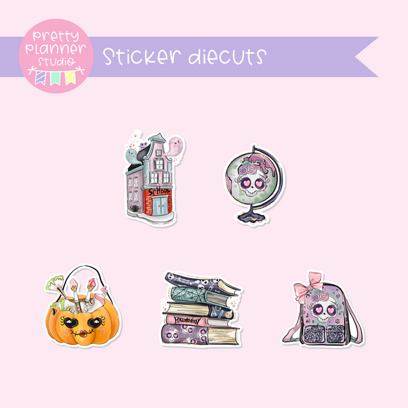 Halloween high - School | sticker diecuts | HA-005/2