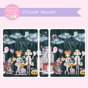 Halloween high - School girls | sticker album | HA-006/3