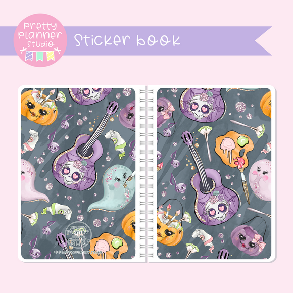 Halloween high - The arts | sticker book | HA-007/1