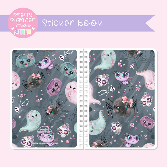 Halloween high - Spooky creatures | sticker book | HA-007/4