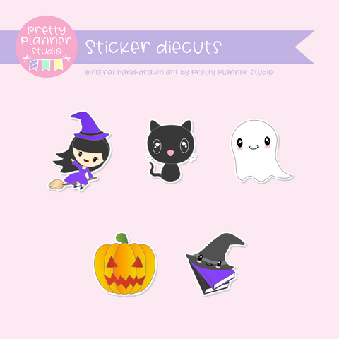 Happy halloween | sticker diecuts | HH-005