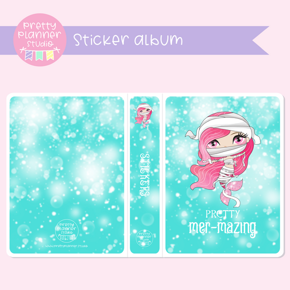 Halloween mermaids II - Pretty mer-mazing | sticker album | HM-006/1
