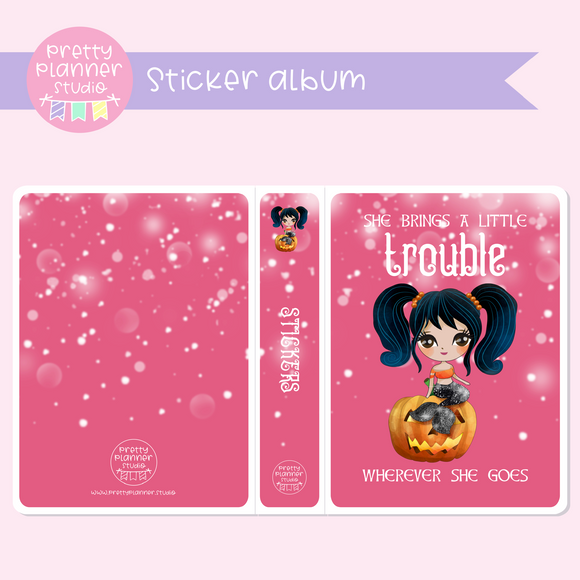 Halloween mermaids II - Trouble | sticker album | HM-006/2