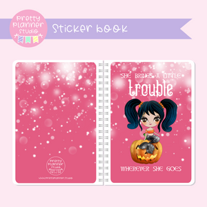 Halloween mermaids II - Trouble | sticker book | HM-007/2