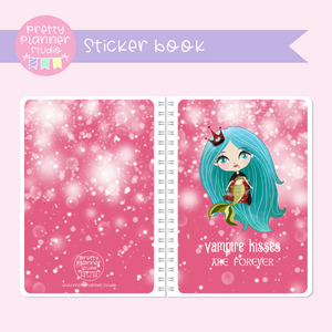 Halloween mermaids II - Vampire kisses | sticker book | HM-007/5