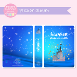 Happiest place on earth - castle | sticker album | HP-006/1