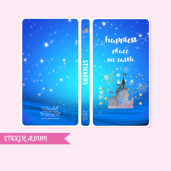 happiest place on earth - castle | sticker album - hobo weeks | HP-901