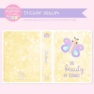 Hello spring - The beauty of change | sticker album | HS-006/2
