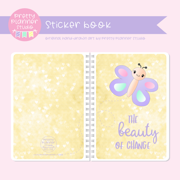 Hello spring - The beauty of change | sticker book | HS-007/2