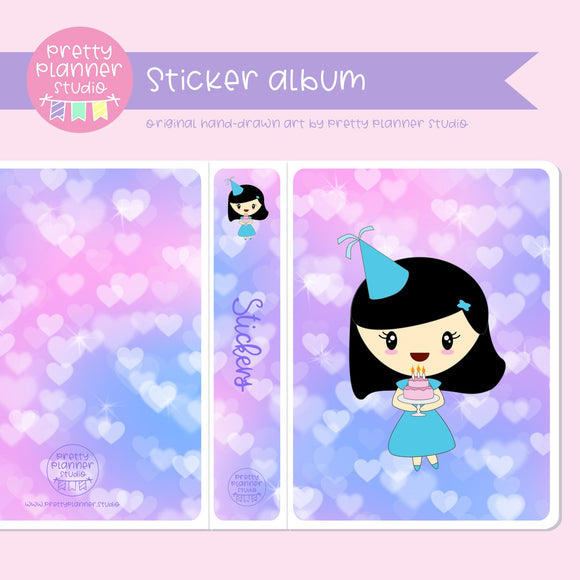 It's my birthday II - Mila | sticker album | IB-006/1