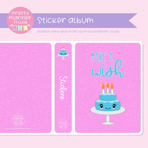 It's my birthday II - Make a wish | sticker album | IB-006/2