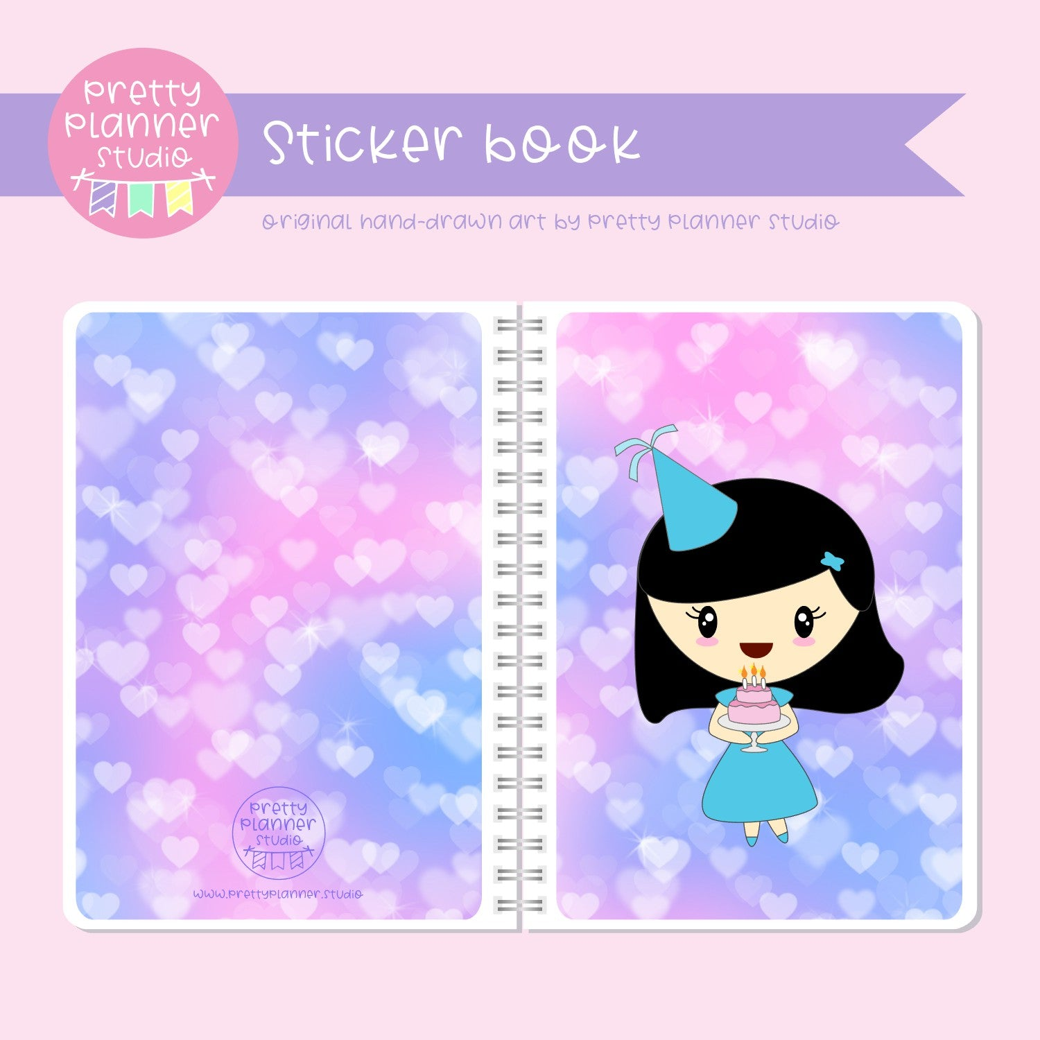 It's my birthday II - Mila | sticker book | IB-007/1