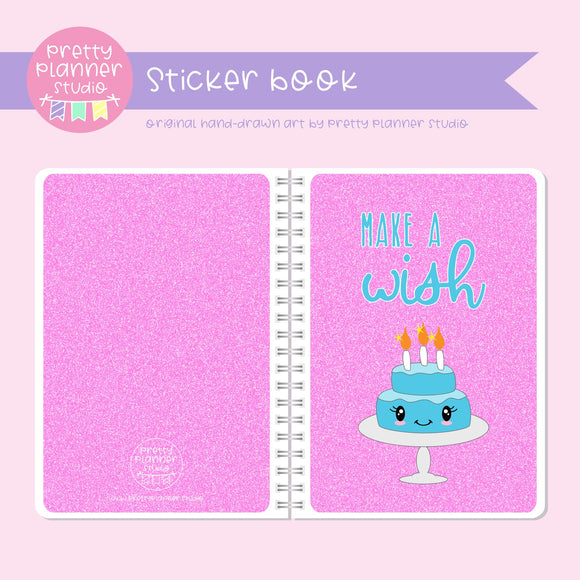 It's my birthday II - Make a wish | sticker book | IB-007/2