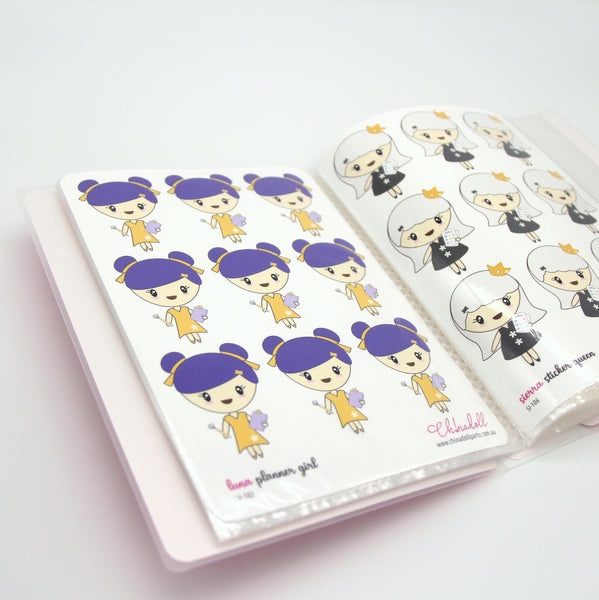 roxy | custom sticker album - large | RO-901