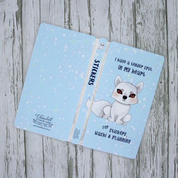 game of thrones winter is coming - direwolf | sticker album - hobo weeks |WC-901