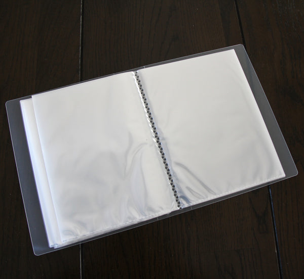 clear photo album | 5x7"