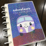 Happy campers - Adventures fill your soul | Build your own notebook | HC-008/2