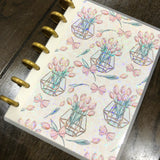 Wild & chic - Tulips | holographic planner / notebook cover | Build your own notebook | WC-008/4