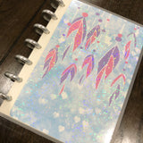 Boho style - Feathers | Build your own notebook | BS-008/1