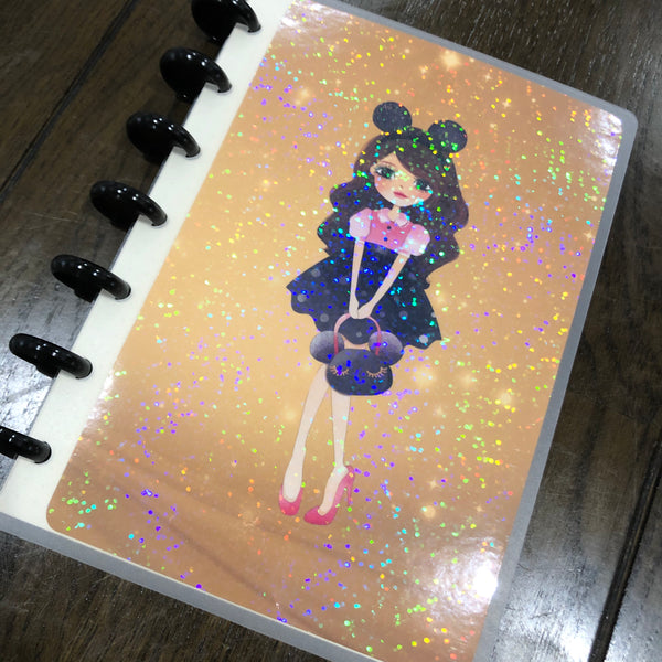 Happiest place on earth - Girl | Build your own notebook | HP-008/2