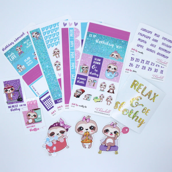 Monthly subscription box - sticker only | ch!nadoll sticker shop
