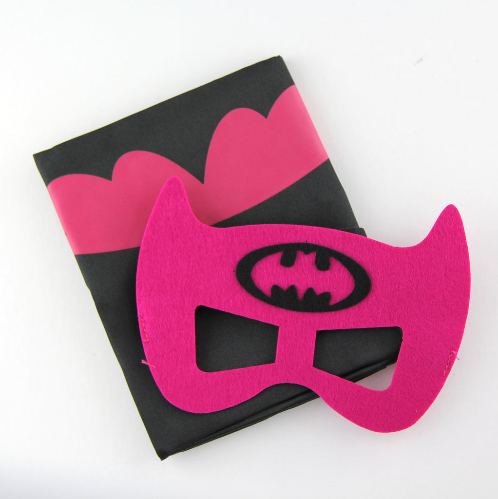 superheroes cape and mask | batgirl