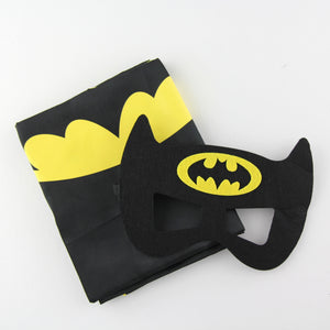 superheroes cape and mask | personalised | batman