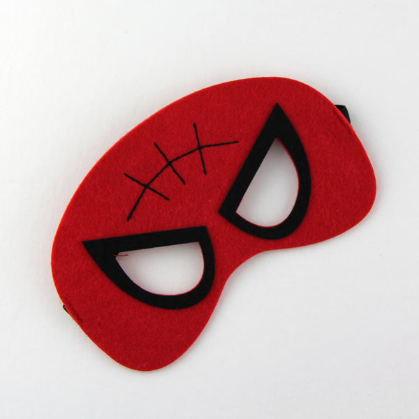 superheroes cape and mask | spiderman