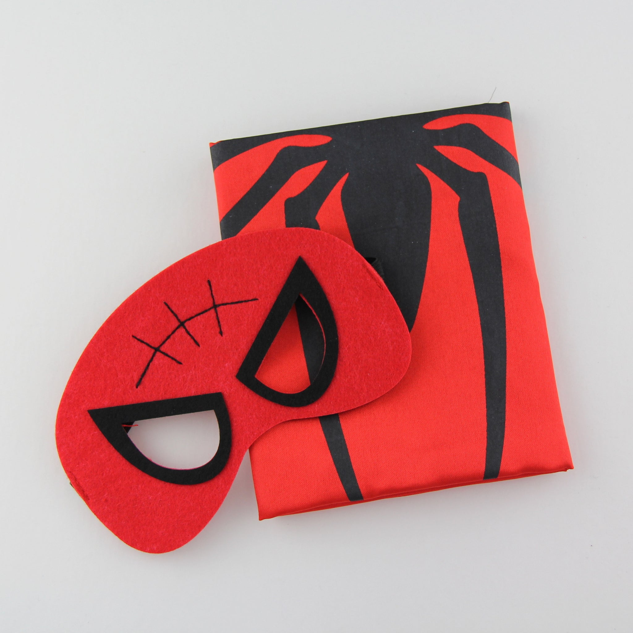 superheroes cape and mask | spiderman READY TO SHIP
