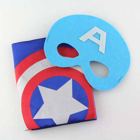 superheroes cape and mask | captain america