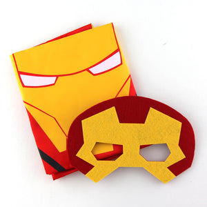 superheroes cape and mask | personalised | ironman