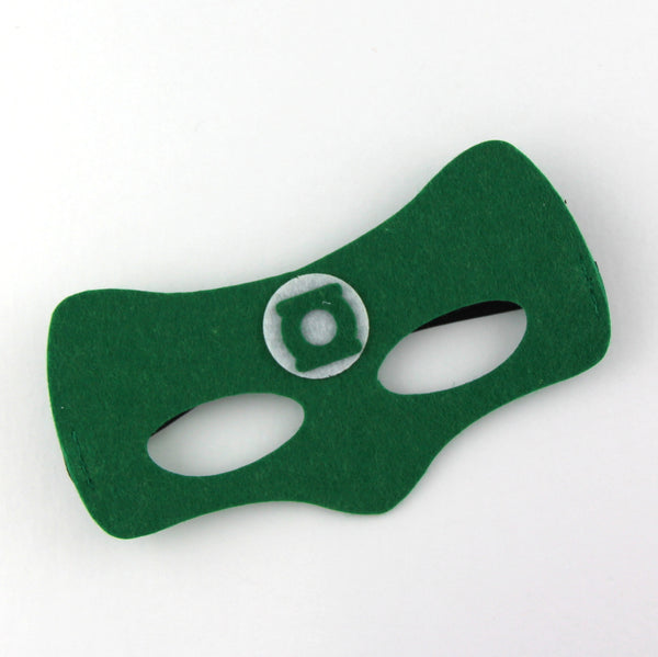 superheroes cape and mask | green lantern