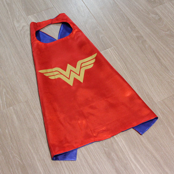 superheroes cape and mask | wonder woman READY TO SHIP