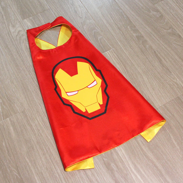 superheroes cape and mask | ironman READY TO SHIP