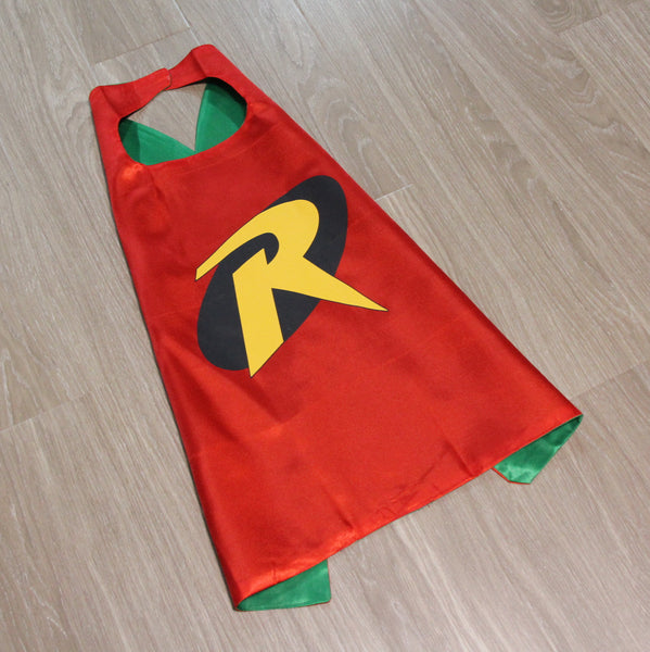 superheroes cape and mask | robin