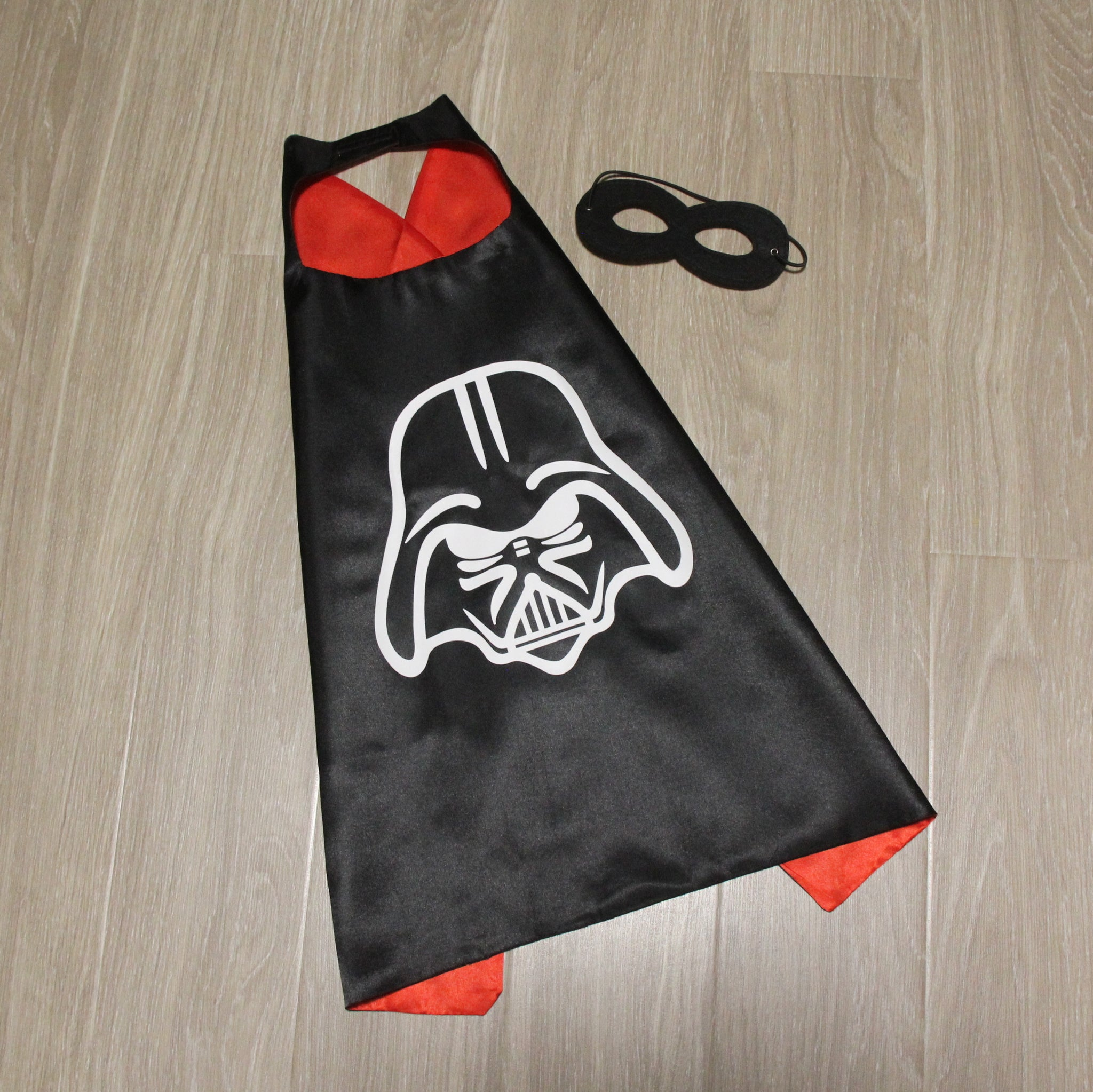 star wars cape and mask | personalised | darth vader