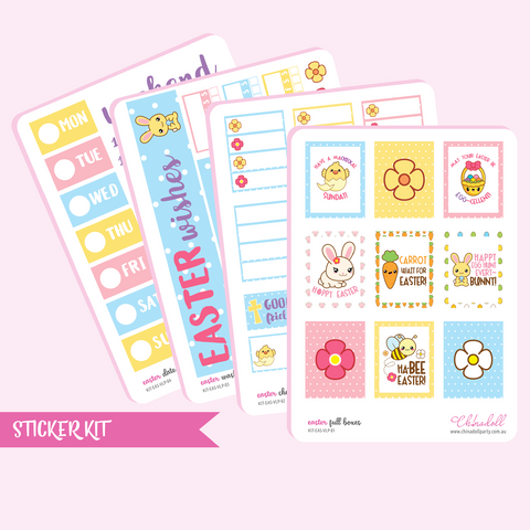 easter sticker kit | ECLP vertical | KIT-EAS-VLP