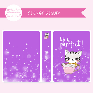 life is purrfect | sticker album | LP-901