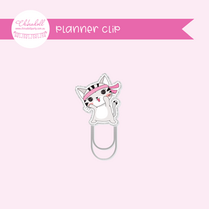life is purrfect - exercise | planner clip | LP-933