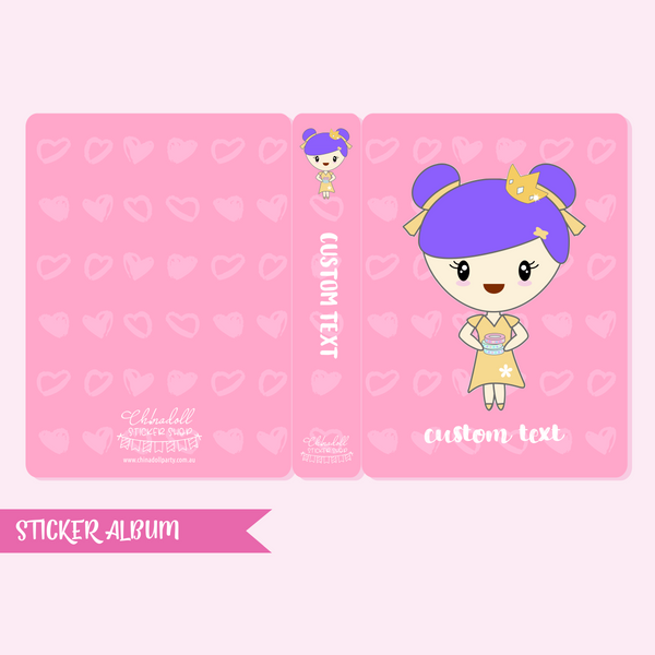 luna | custom sticker album - regular | LU-902