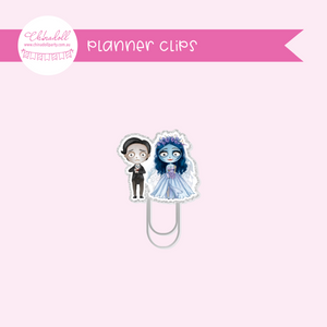 corpse bride - moonlight bride - victor and emily | planner clip