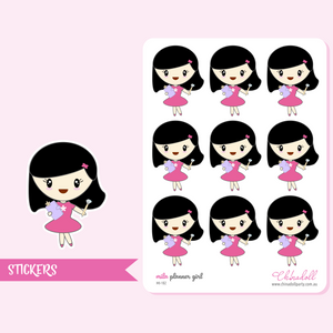 planner girl - mila - kikki k | sticker sheet | MI-102