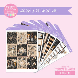 New year cheer | weekly sticker kit | vertical | NY-131