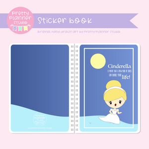 Once upon a time - Cinderella | sticker book | OU-007/2