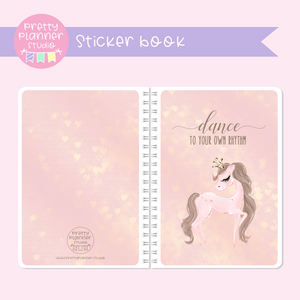Prima ballerina - Dance to your own rhythm | sticker book | PB-007/1