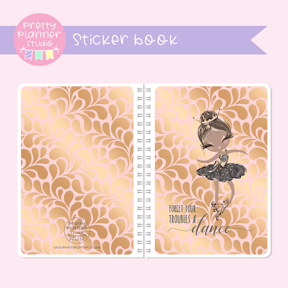 Prima ballerina - Forget your troubles and dance | sticker book | PB-007/2
